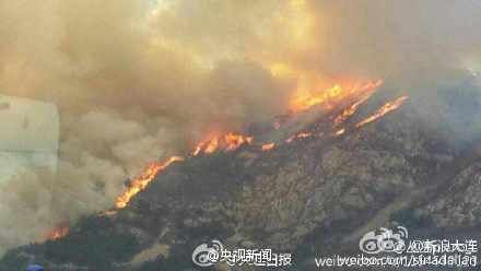 大连大黑山火灾致5名登山者死亡