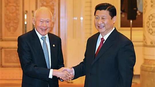 回顾李光耀的中国情缘
