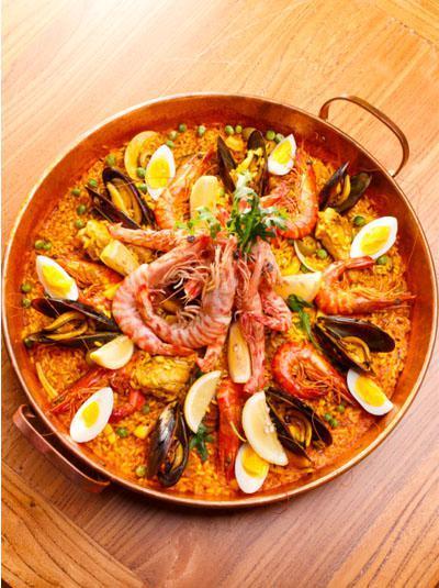 上海最地图西班牙海鲜饭美味_吃喝玩乐_新民曼谷美食街王权免税店图片