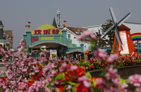 上海欢乐谷推出星光夜场 夜场更精彩