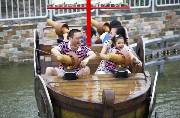 上海欢乐谷踏青节期间门票打折 低至对折