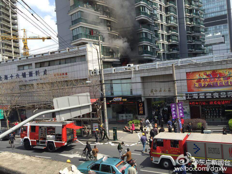 上海十六铺面料城起火 67岁嫌疑人被刑拘