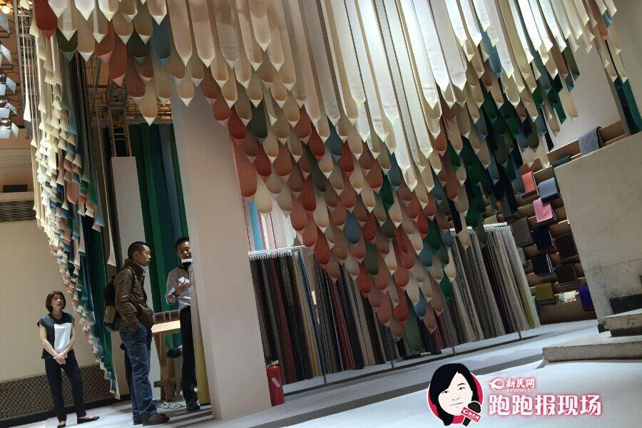 """""""设计上海""""展览将于即日起至30日在上海展览中心举行。新民晚报新民网 胡彦珣 摄"""