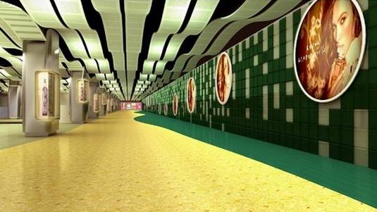 南京西路换乘通道未能建成 地铁三线换乘需出站