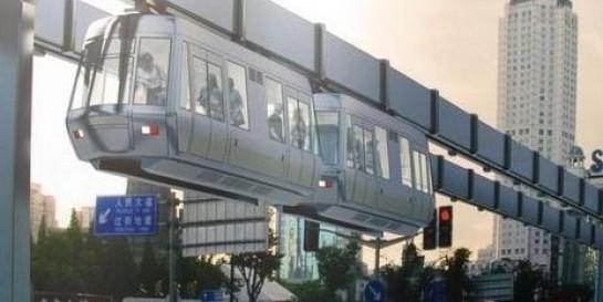 全透明空中列车要开进上海!