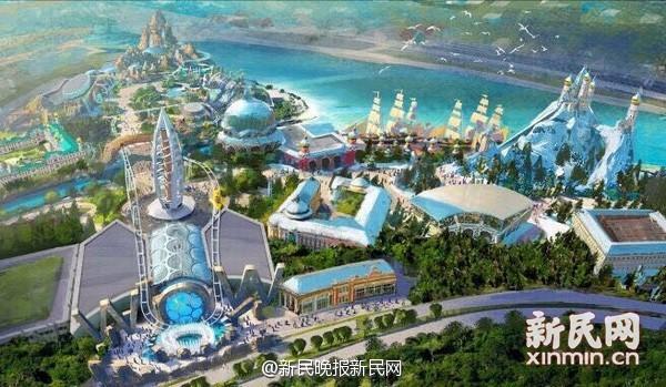 上海迪士尼最快5.4秒入园 明春季开园