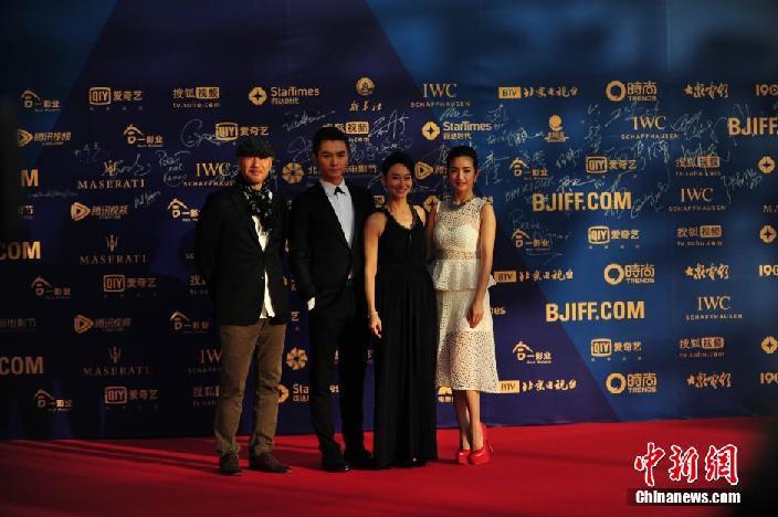 北京国际电影节开幕:红地毯上哪位明星最抢镜图片
