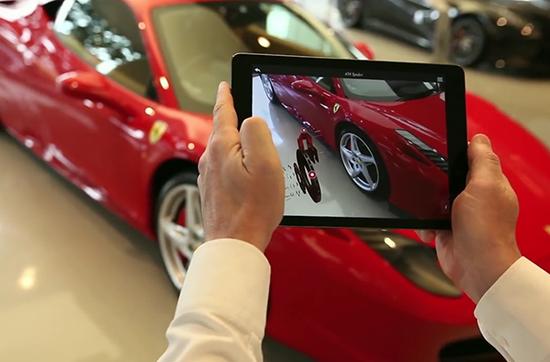苹果与法拉利就追踪虚拟互动技术展开合作