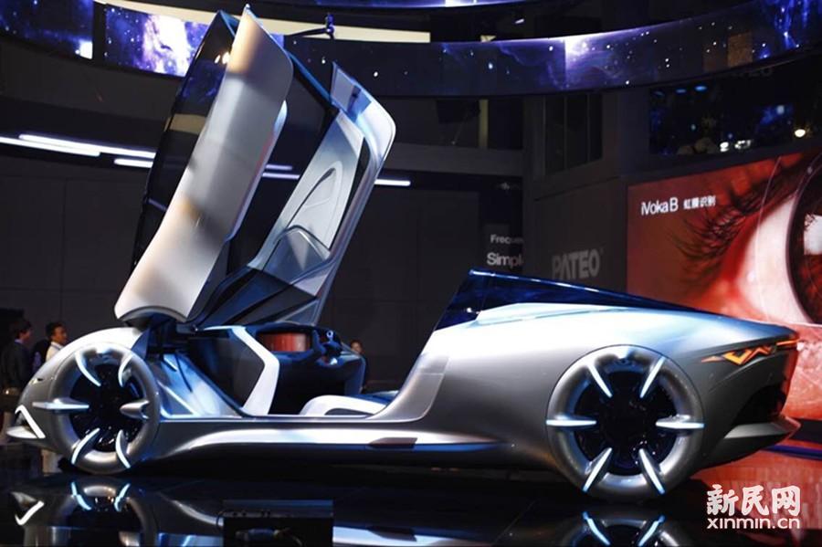 博泰中国首部智能汽车概念车。新民晚报新民网记者 萧君玮 摄