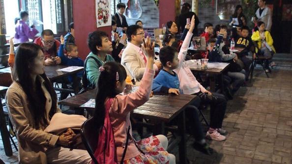 """""""侬好上海""""沪语大世界开张 推广上海话进社区"""