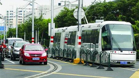 上海延安路全线规划开行有轨电车 有望年内开行