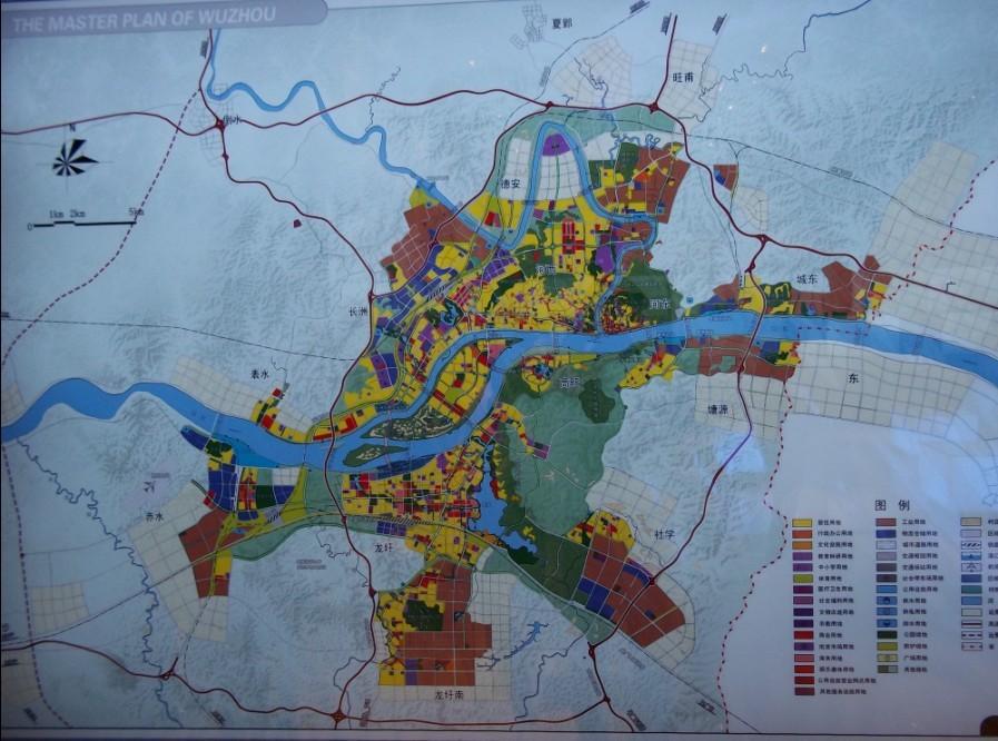 梧州苍海湖地图全图