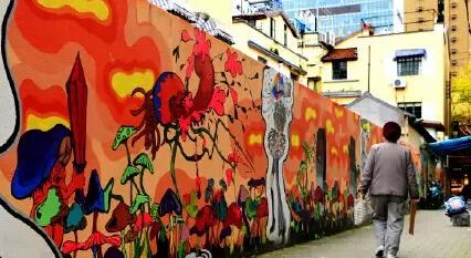 去处 ||上海最新潮艺术涂鸦墙,酷!