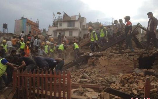 8.1级!尼泊尔地震死伤惨重