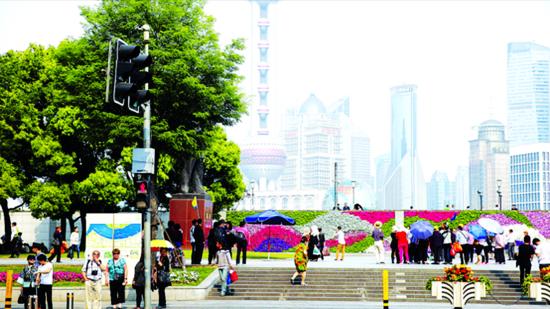 上海外滩五一或将单向通行 中山东一路或交通管制