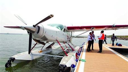 4500元 可从上海金山坐水上飞机