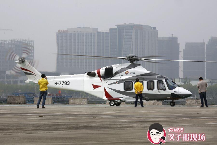 """空中俯瞰""""3D版""""上海——后滩直升机场五一开飞"""