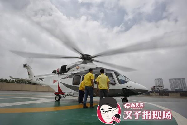 独家视频告诉你上海800元直升机游览看些啥