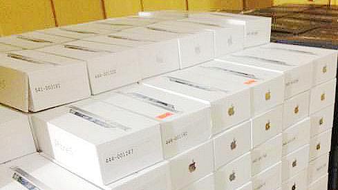 上海一苹果专卖店仓库内30多部iPhone6被盗