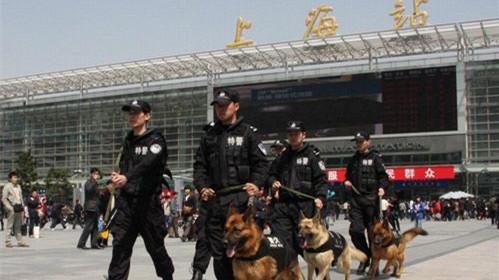 """上海铁路警方全力确保""""五一""""期间旅客生命财产安全"""