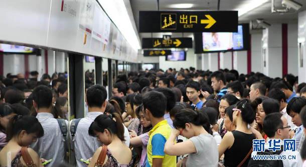今天上海地铁客流或将再破千万