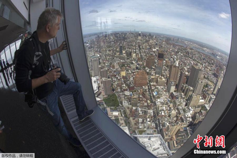 纽约世贸中心观景台将开放 500米高空俯瞰纽约城
