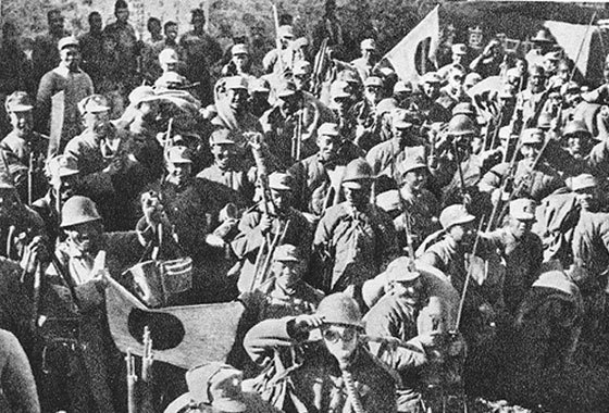 日军在晋暴行令人发指