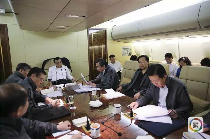 李克强出访专机会议照首次披露