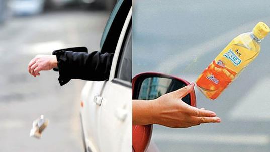 上海109个路口实时监控车窗抛物 鼓励志愿者抓拍