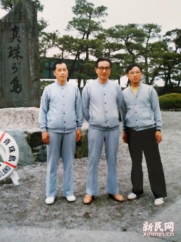 1985年周元龙率团访日(见报道)