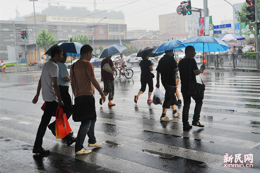 申城入梅成暴雨主场 今夜至明天全市范围强降水