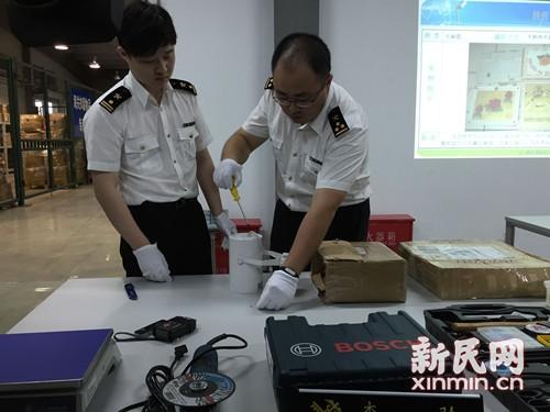 上海海关一年缴获毒品124公斤 茶叶礼盒夹冰毒