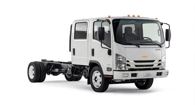 通用借力五十铃 重返美国中型卡车市场高清图片