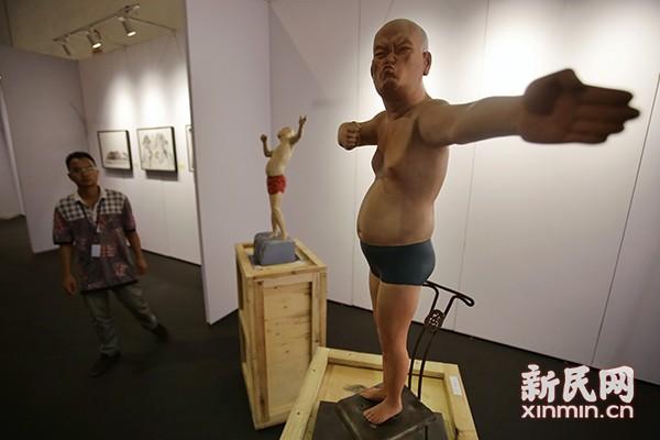 首届上海青年艺术博览会亮相国际展览中心