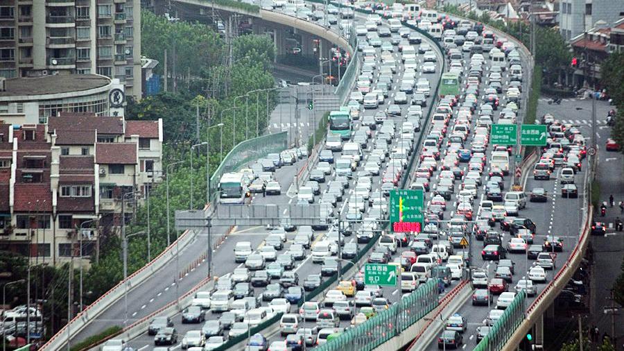 节前出行叠加 今天市内可能出现较大范围拥堵