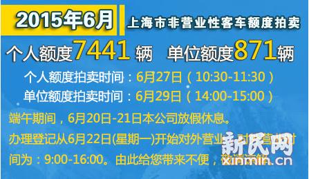 本月车牌拍卖6月27日举行 二次模拟拍卖时间未定