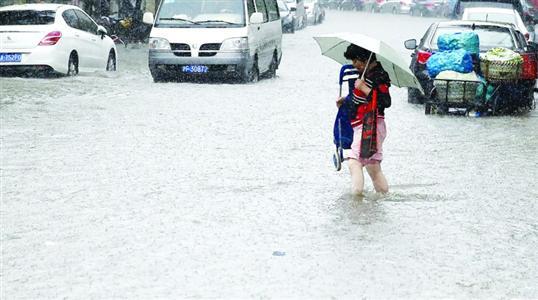 新一轮大暴雨预计明天到来 本周末或达到最高峰