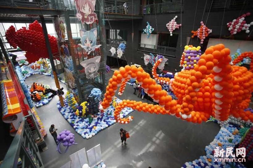 上海气球嘉年华今天缤纷启幕