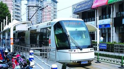 上海张江有轨电车年亏2000多万元 零配件被断供