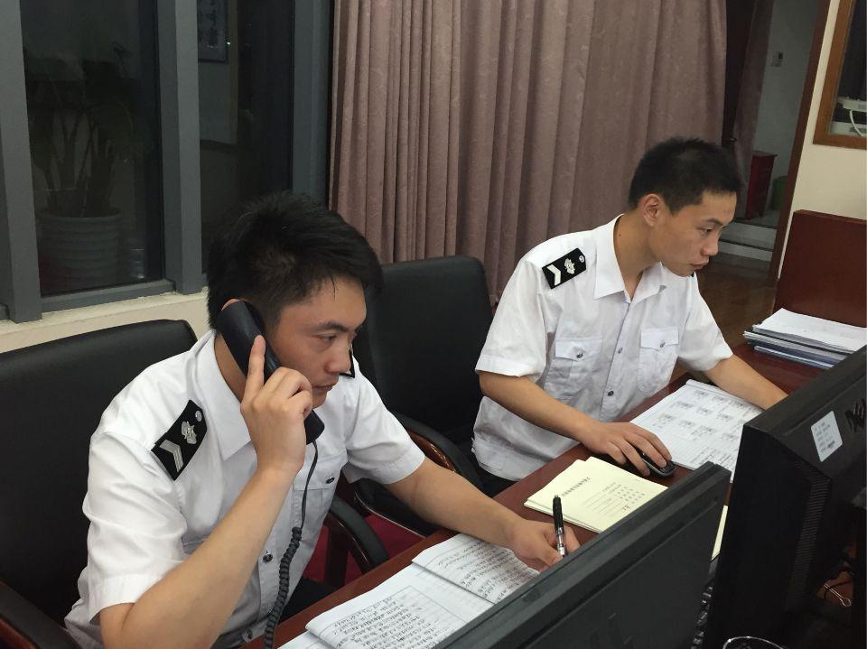 """迎战""""灿鸿""""  气象救助公安全员上岗"""