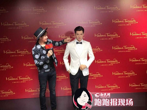 吴亦凡蜡像今揭幕 为90后明星入驻上海杜莎第一人