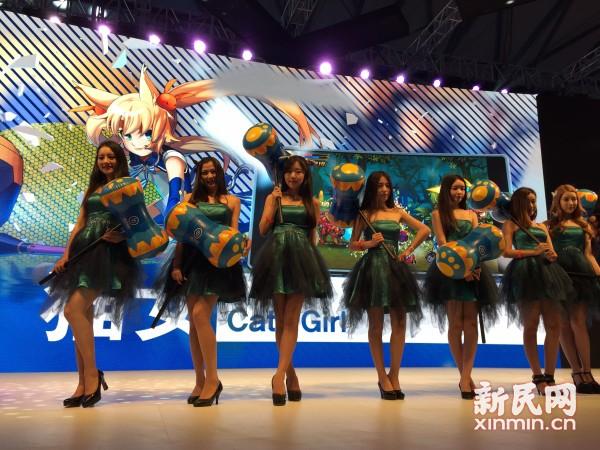 2015ChinaJoy今开展 火热气氛引爆申城