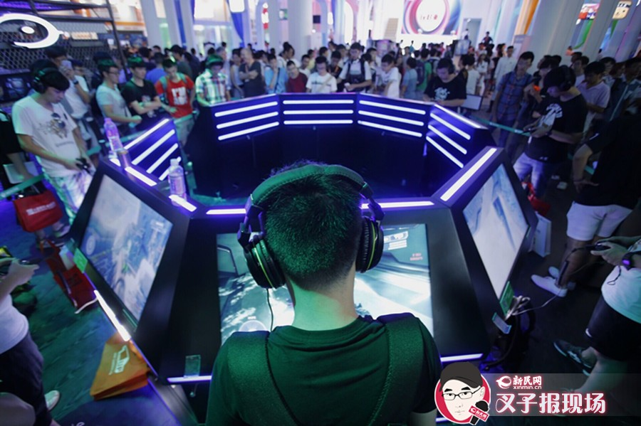2015ChinaJoy火爆开展 游戏增量玩家倍爽