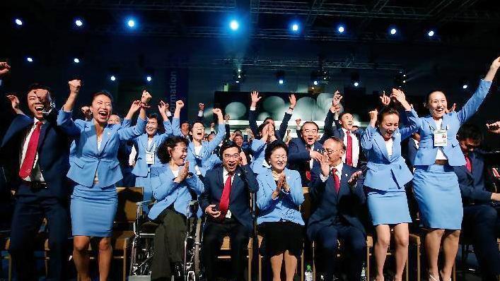 赢了!北京携手张家口获2022冬奥举办权