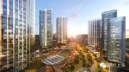 上海最大CBD中央公园年底将建成