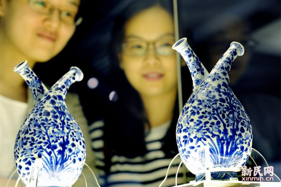 明清贸易瓷展在沪展出 163件藏品见证东西交流