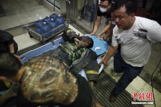 天津爆炸确认9名消防员牺牲36名消防官兵失联
