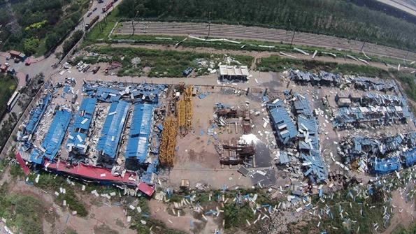8消防车、4直升机在天津滨海新区爆炸事故中损毁