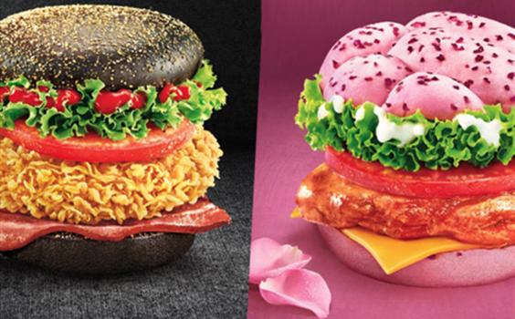 肯爷爷新品汉堡吓哭网友