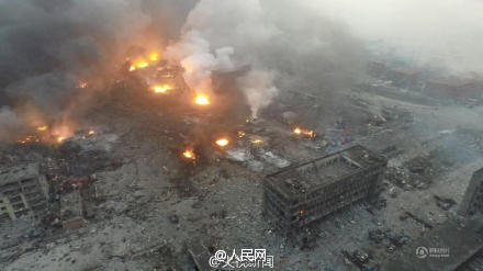 今早爆炸现场救出一生还者 已救出32人